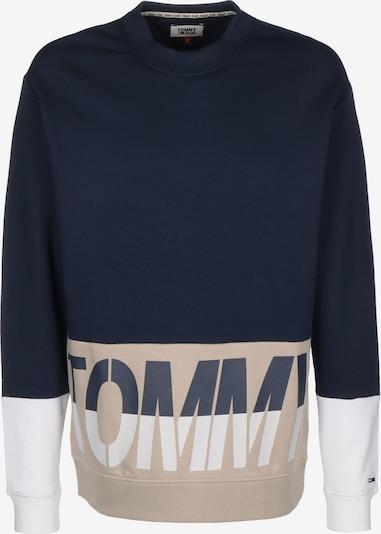 Tommy Jeans Mikina - béžová / námořnická modř, Produkt