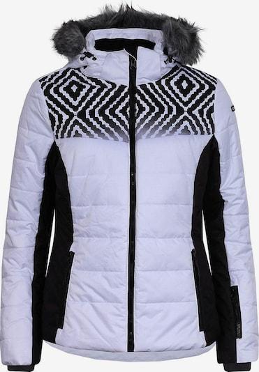 ICEPEAK Jacke 'Vigevano' in schwarz / weiß, Produktansicht
