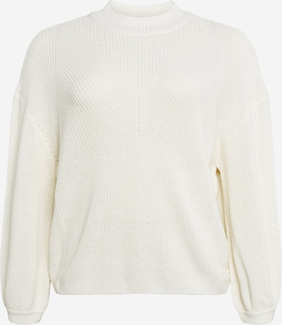 Noisy May Curve Sweter 'Sian' w kolorze białym, Podgląd produktu