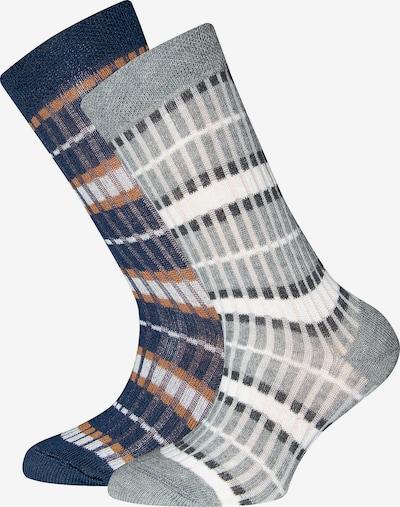 EWERS Kniestrümpfe in blau / grau / weiß, Produktansicht