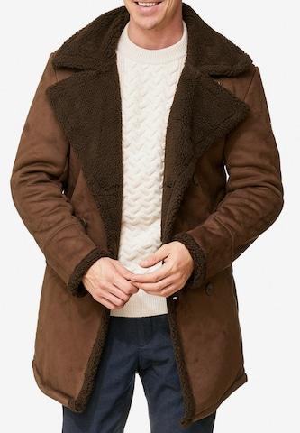 Manteau d'hiver 'Barlow' INDICODE JEANS en marron