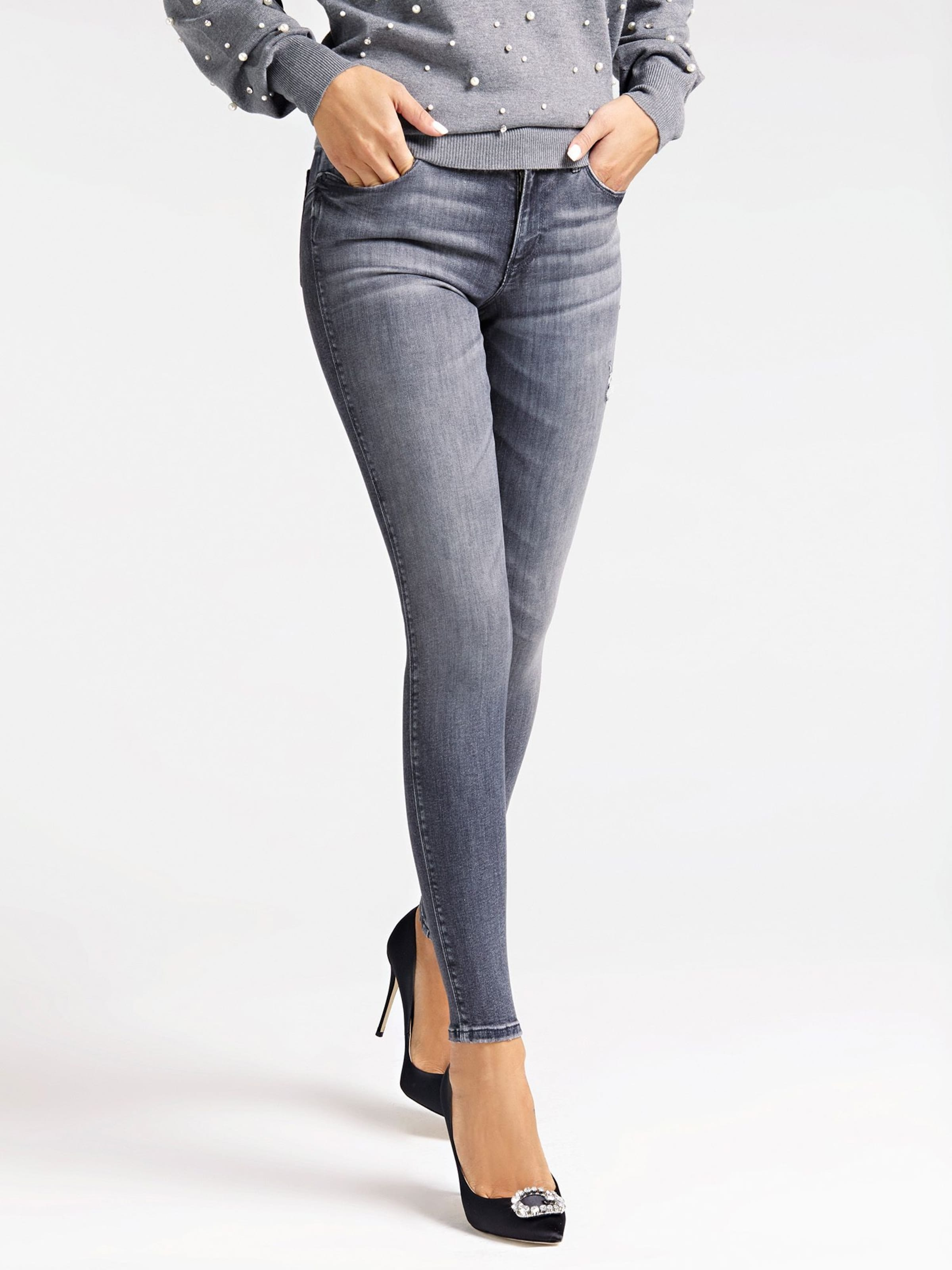 X' In Denim Guess Jeans 'curve Grey b7fyvY6g