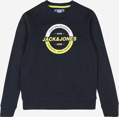 éjkék / sárga / fehér Jack & Jones Junior Tréning póló, Termék nézet
