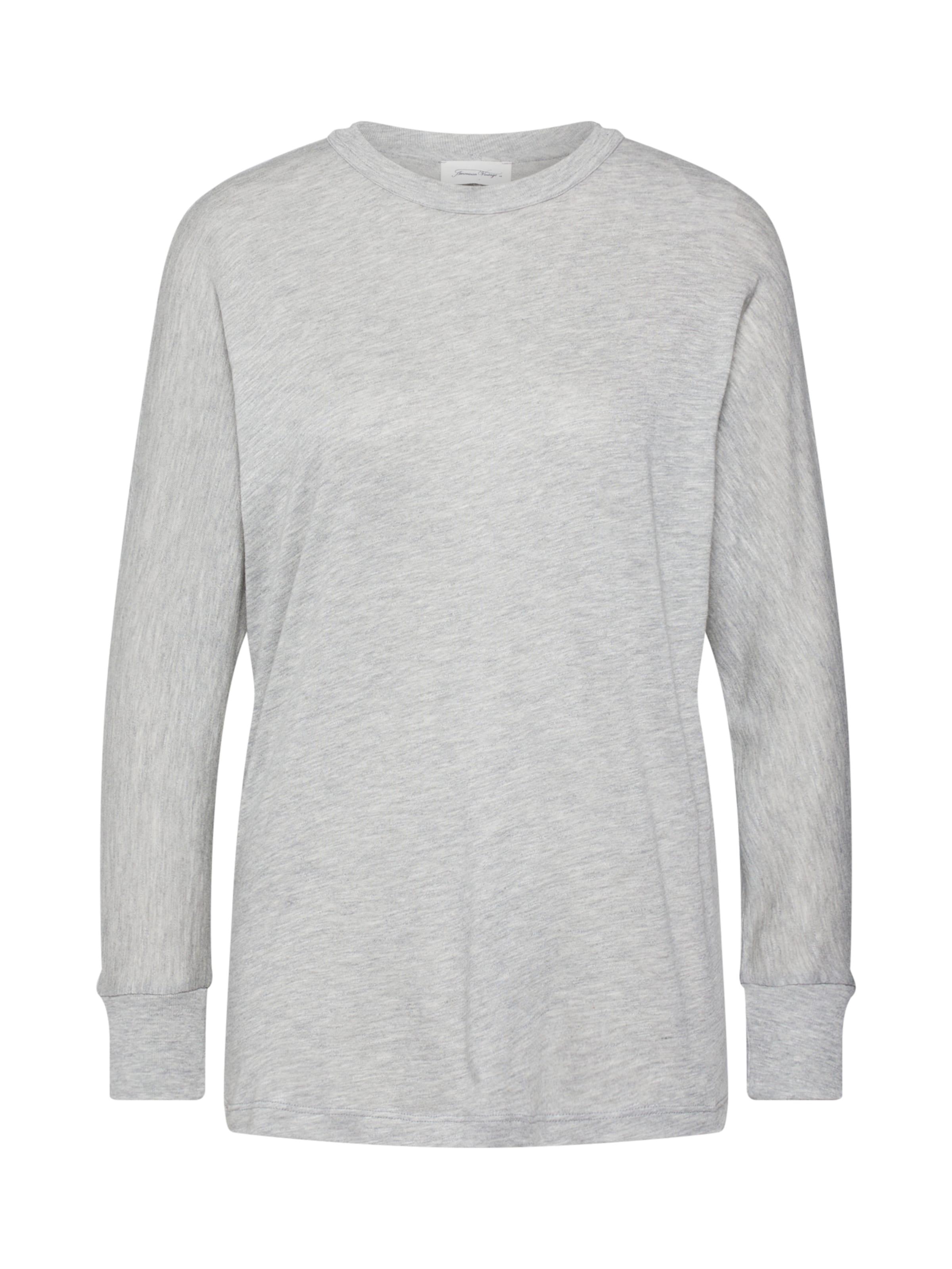 shirt T American En Clair Vintage Gris 'kobi59h19' 4SAjcq3L5R
