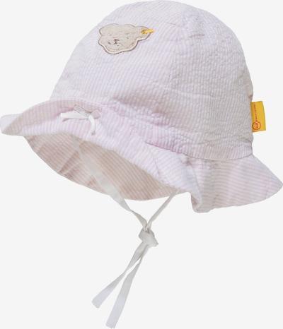 STEIFF Hut in braun / goldgelb / rosa / weiß, Produktansicht