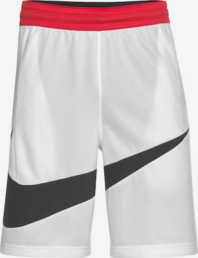 NIKE Pantalon de sport en rouge / noir / blanc, Vue avec produit