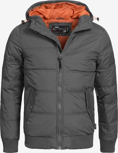 INDICODE JEANS Winterjas ' Adrian ZA ' in de kleur Grijs, Productweergave