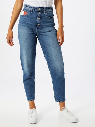 Tommy Jeans Jeans in blue denim, Modelansicht