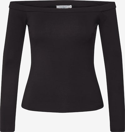 NA-KD Shirt 'NA-KD x Pamela Reif' in schwarz, Produktansicht