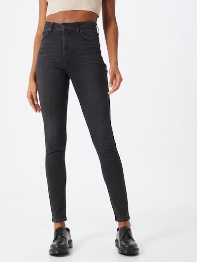 Lee Jeans 'IVY' in de kleur Black denim, Modelweergave