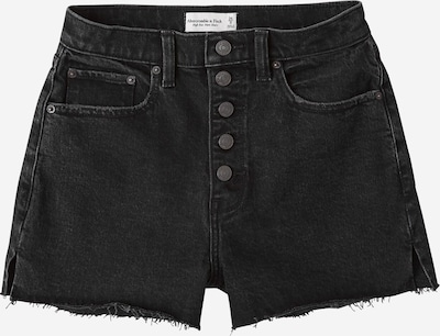 Abercrombie & Fitch Jeans 'CURVY HR MOM' in black denim, Produktansicht