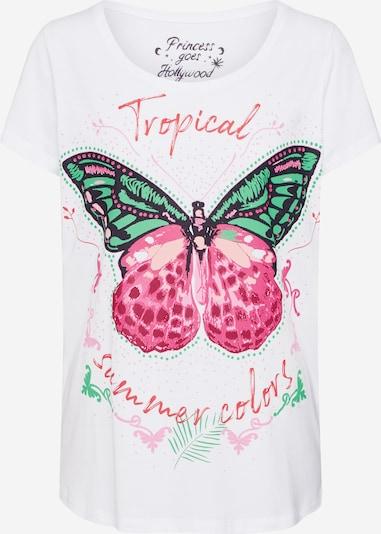 PRINCESS GOES HOLLYWOOD Majica | bela barva, Prikaz izdelka