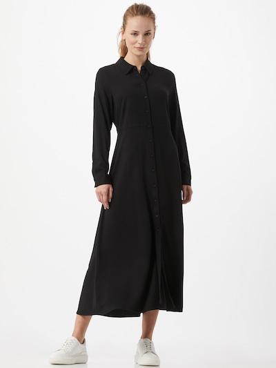 OBJECT Kleid 'Baya' in schwarz, Modelansicht