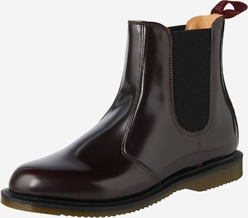 Dr. Martens Chelsea Boots 'Flora' in Red