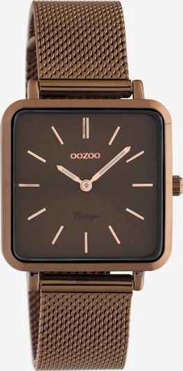OOZOO Uhr 'C20014' in braun / kupfer, Produktansicht