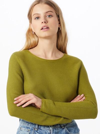 TOM TAILOR Pullover 'New Ottoman' in dunkelgrün, Modelansicht