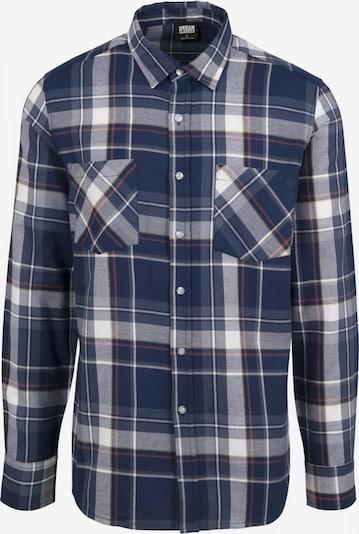 Urban Classics Hemd in blau / rot / weiß, Produktansicht