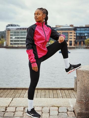 Bright Pink Running Look