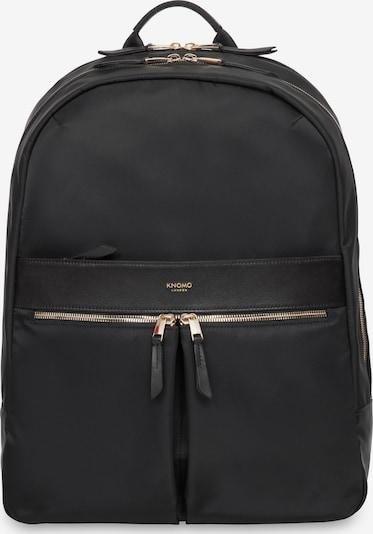 KNOMO Rucksack in schwarz, Produktansicht
