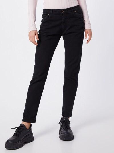 PLEASE Jeans in de kleur Zwart, Modelweergave