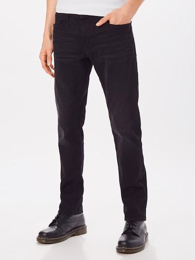 TOM TAILOR Jeans 'Josh' in black denim, Modelansicht