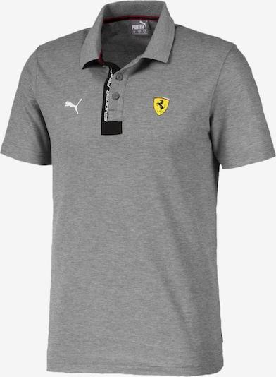 PUMA Ferrari Herren Polo in grau: Frontalansicht