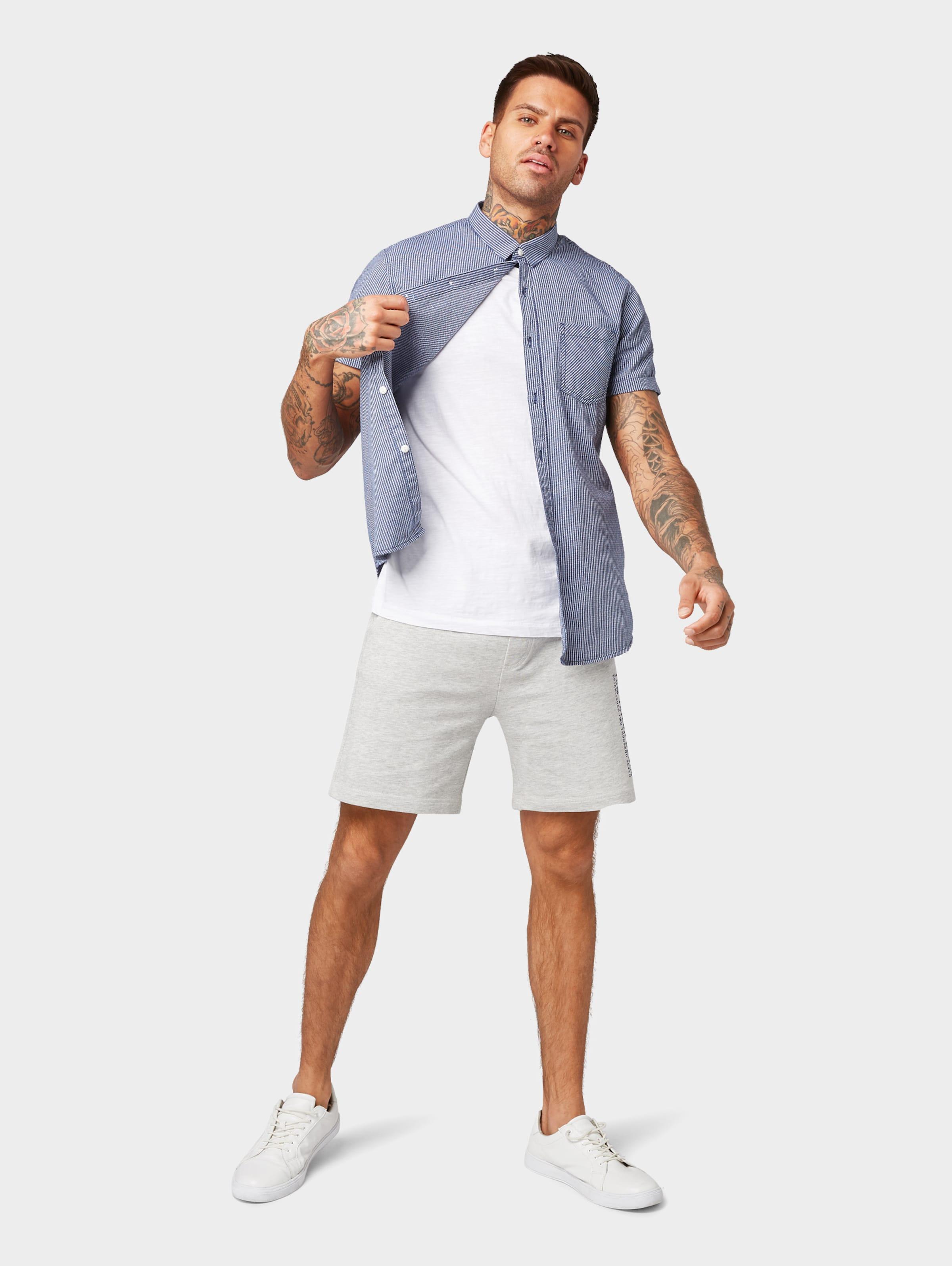 Tom In Denim NachtblauWeiß Hemd Tailor 8X0PnkwO