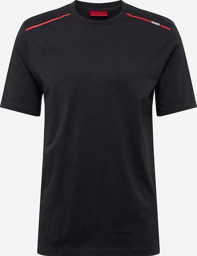 HUGO T-Shirt 'Dyrtid' in rot / schwarz / weiß, Produktansicht