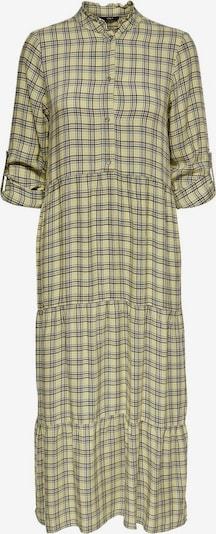 ONLY Blusenkleid in grau / oliv / schwarz: Frontalansicht