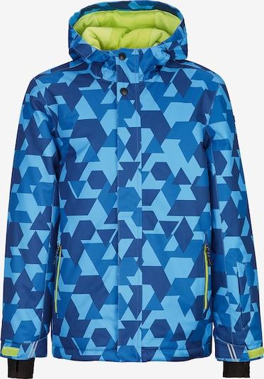 KILLTEC Skijacke 'Gavyn' in blau / himmelblau / hellblau, Produktansicht