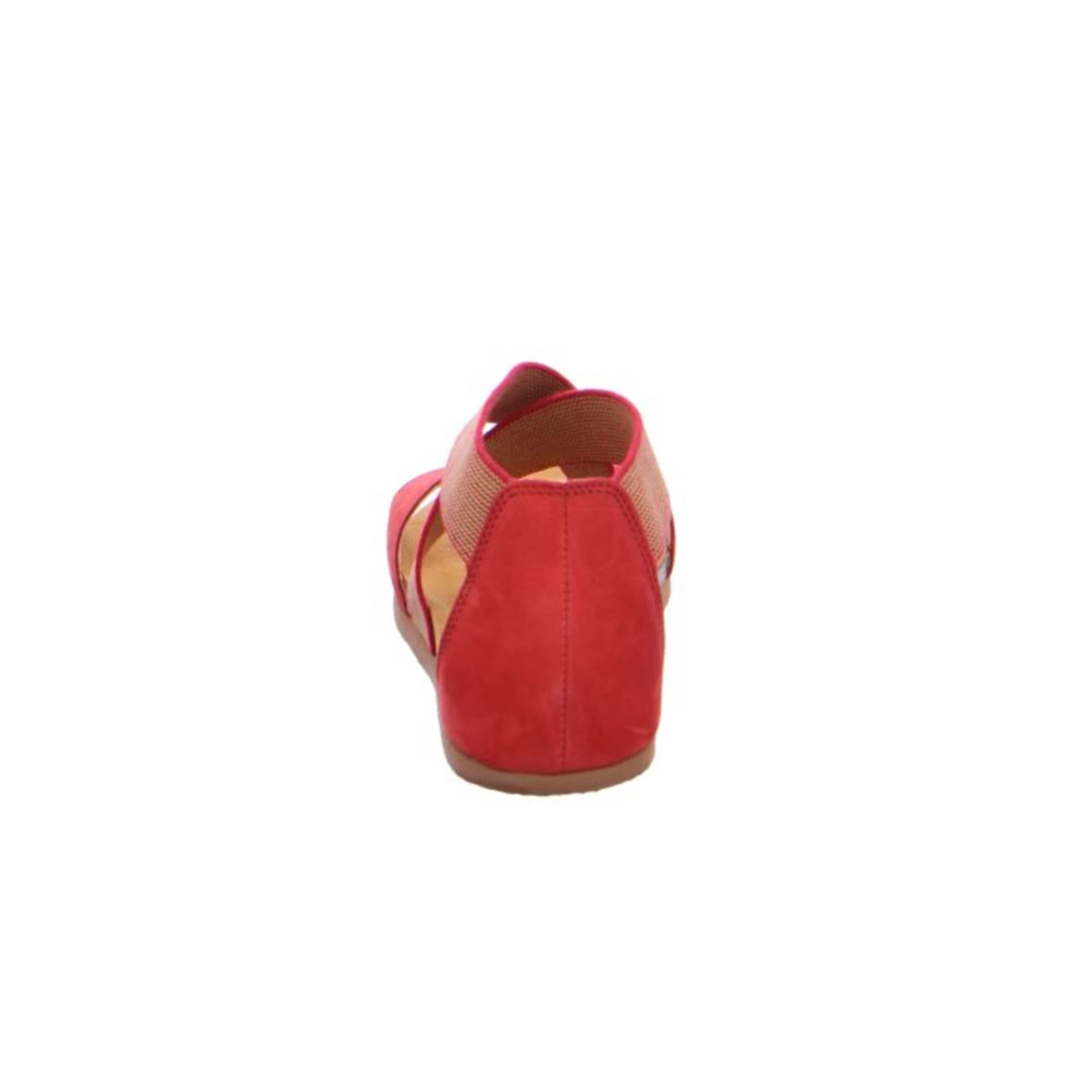 THINK! Sandale in rotmeliert