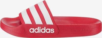 ADIDAS PERFORMANCE Pantofle 'Adilette' - červená / bílá, Produkt