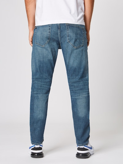 Jeans Only & Sons pe denim albastru: Privire spate