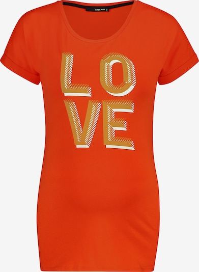Supermom T-Shirt 'Seriously Love' in gold / hummer, Produktansicht