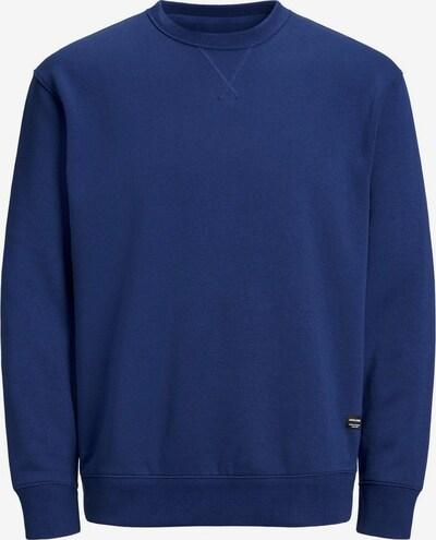 JACK & JONES Sweat-shirt 'SOFT' en bleu foncé: Vue de face