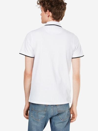 JACK & JONES Poloshirt in weiß: Rückansicht