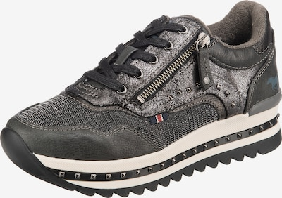 Sneaker low MUSTANG pe gri / gri argintiu, Vizualizare produs