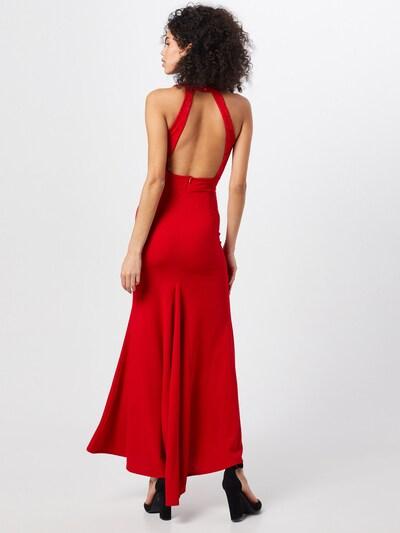 WAL G. Večerna obleka 'Dress' | rdeča barva: Pogled od zadnje strani