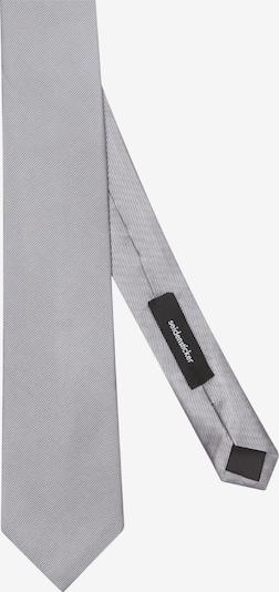 SEIDENSTICKER Krawatte ' Schwarze Rose ' in silber, Produktansicht