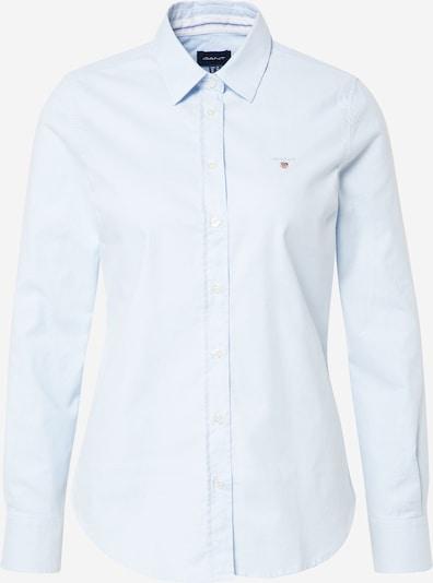 GANT Blouse 'STRETCH OXFORD SOLID' in de kleur Lichtblauw, Productweergave