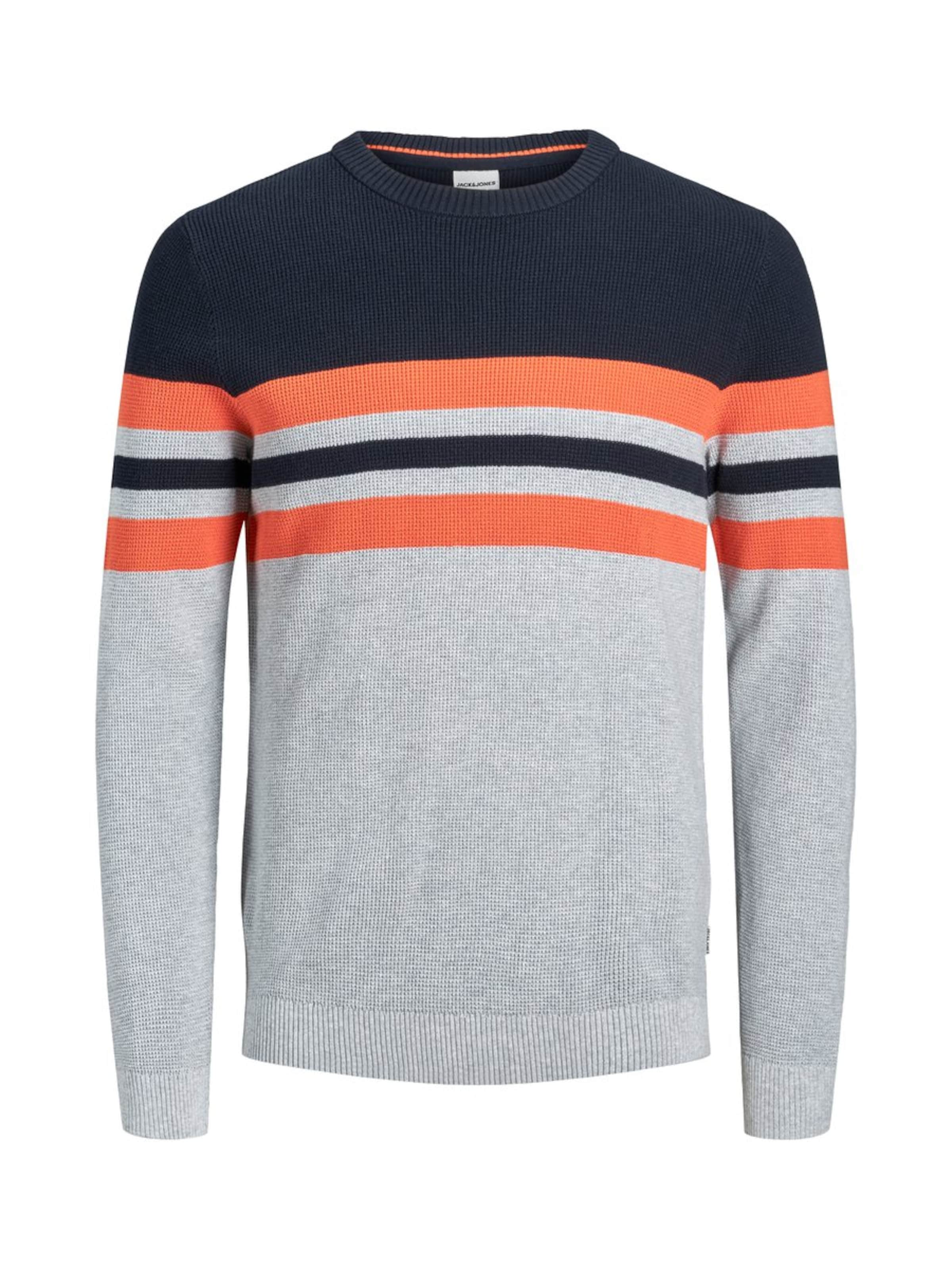 Corail Jones MarineGris over Jackamp; Bleu En Pull 2EDYHWIe9