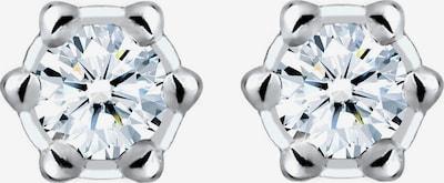 Diamore Ohrringe in silber / weiß, Produktansicht