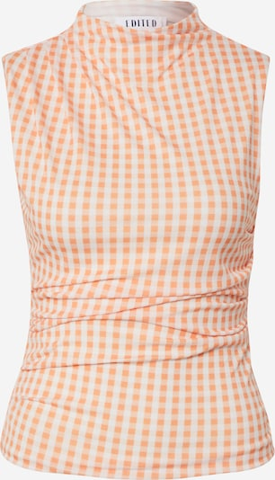 EDITED Top 'Noah' in creme / orange, Produktansicht