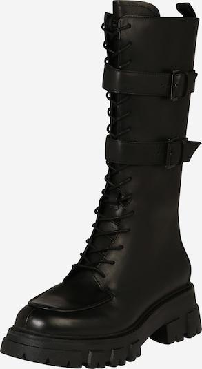ASH Stiefel in schwarz: Frontalansicht