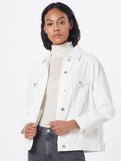 Missguided Jacke in weiß, Modelansicht