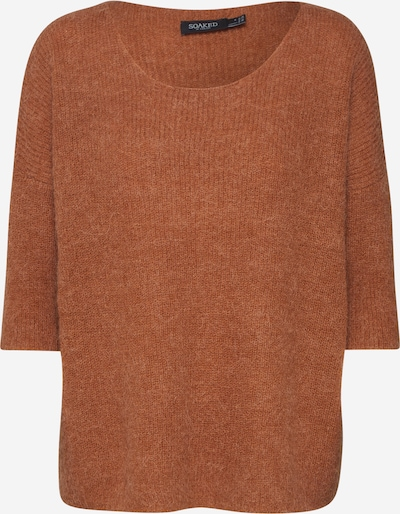 SOAKED IN LUXURY Kampsun 'Tuesday Jumper' moka, Tootevaade