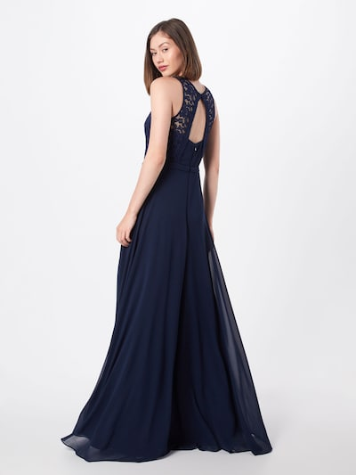 STAR NIGHT Kleid in navy: Rückansicht