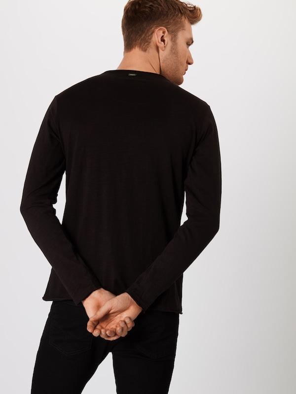 T Largo 'mls00038' shirt Noir En Key m0O8Nwvn