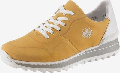 RIEKER Låg sneaker 'Rieker' i gul / vit, Produktvy