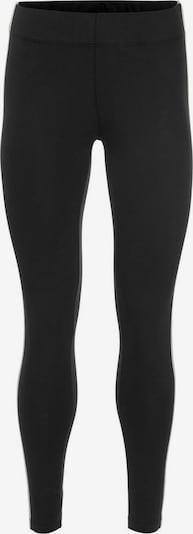 OCEAN SPORTSWEAR Leggings in schwarz / silber / weiß, Produktansicht